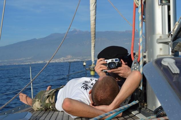 Rhys and his camera