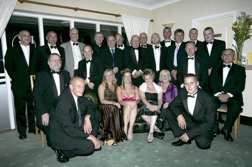 Crew photo at Late Summer Ball 2007
